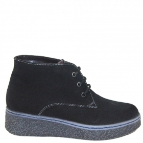 Ankle Boots 13204.F Black suede