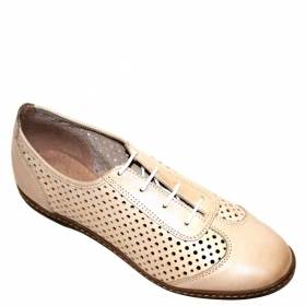 Shoes 14204. In Light Beige colour