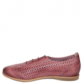 Shoes 14204.In Burgundy colour