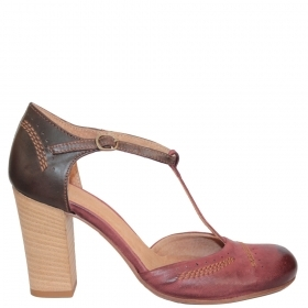 Shoes 13202.2662 Dark burgundy nubuck / Dark burgundy-brown