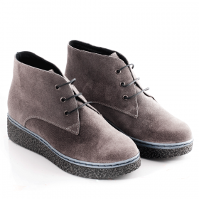 Ankle boots 13204.F Grey velour